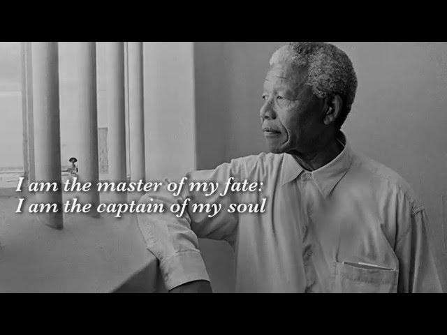 Nelson Mandelas Favorite Poem Invictus Read By Morgan