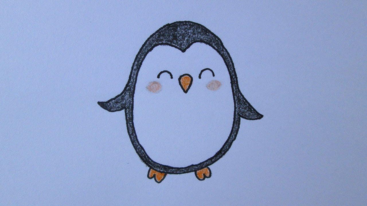 Como Desenhar Um Pinguim Youtube