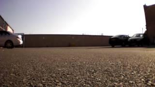 Drone crash into car