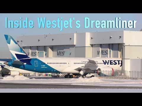 Inside Westjet's new 787 Dreamliner