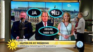 """Marcus: """"Väldigt nära ett ja-svar – kan vara timmar bort"""" - Nyhetsmorgon (TV4)"""