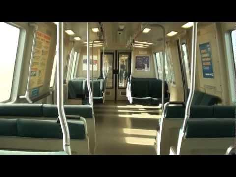 BART's Complete Transbay Tube Trip Into San Francisco