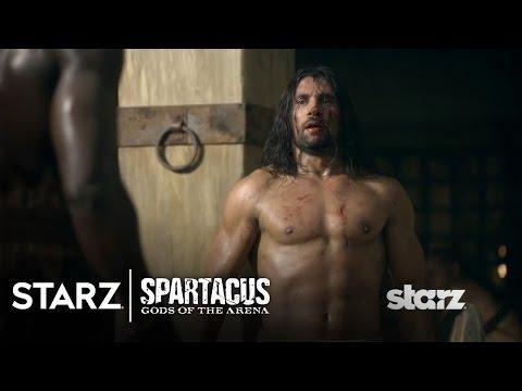 Spartacus | Gods of the Arena - Oenomaus Trains Crixus ...
