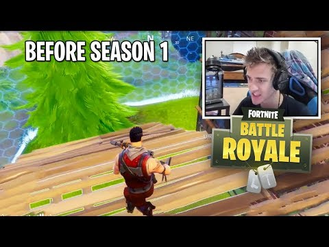 12 Minutes Of Fortnite Season 0 Nostalgia (Before Season 1)