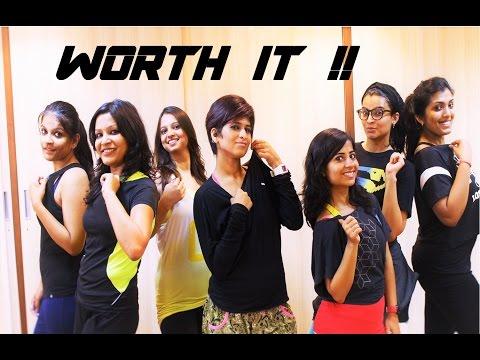 "Zumba Routine on Worth It "" Fifth Harmony"" by Vijaya"