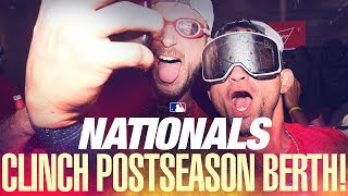 Nationals clinch postseason berth