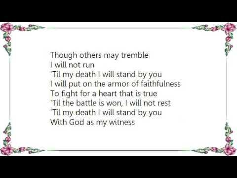 Kathy Mattea - The Battle Hymn of Love Lyrics