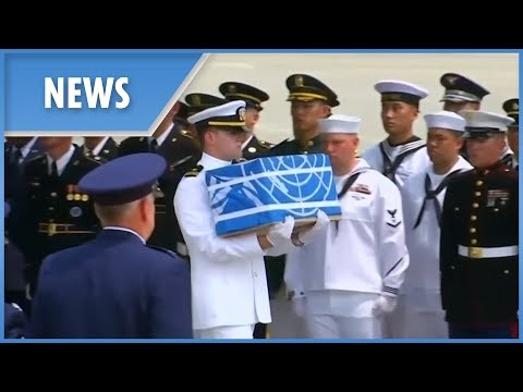 North Korea returns remains of U.S. soldiers from Korean War