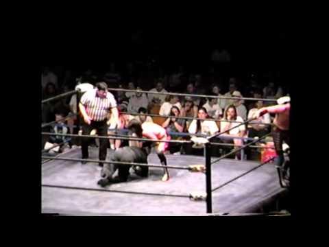 Wrestling Outreach Black Angel & Super Ninja vs Eddie Guerrero & Hector Guerrero