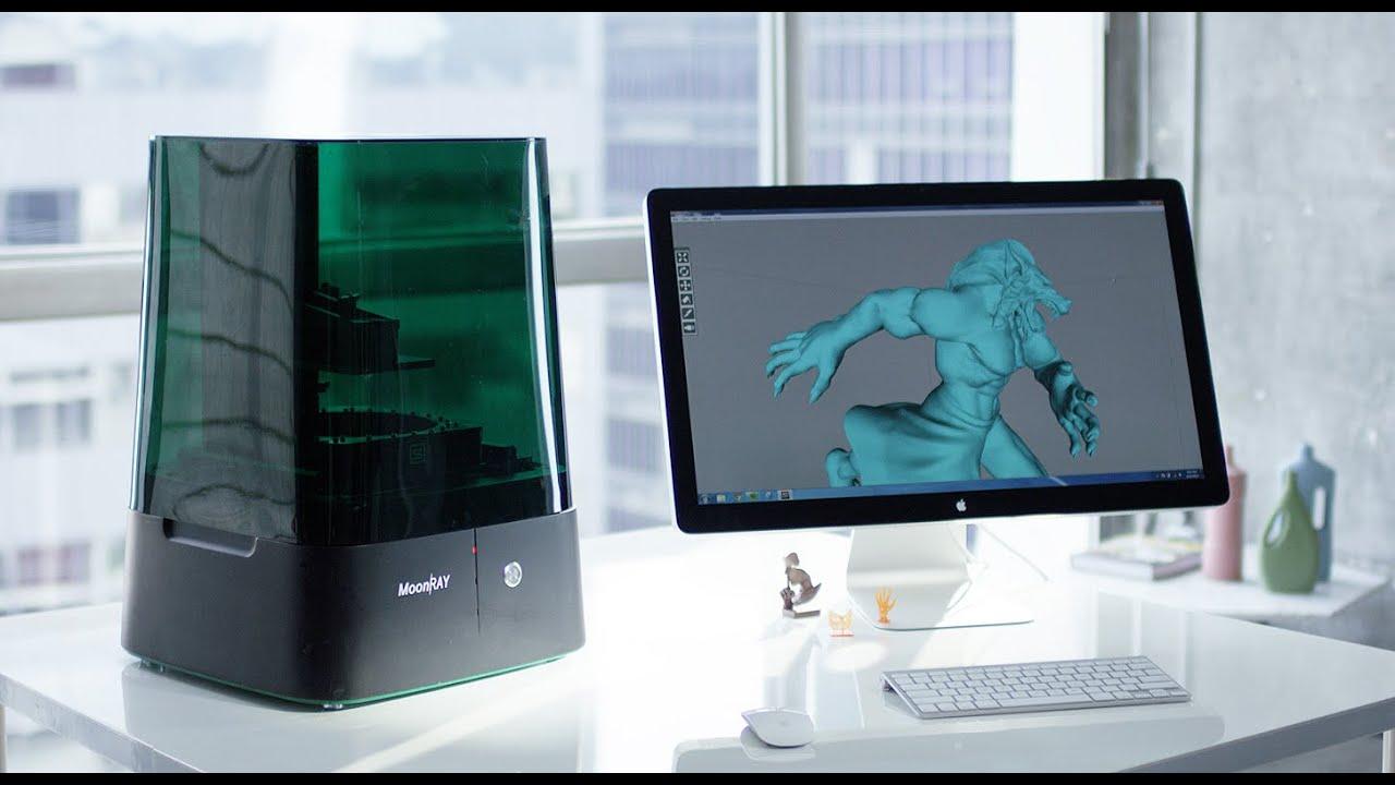 MoonRay Worldu0027s Best UV DLP Desktop