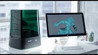 MoonRay: World's Best UV DLP Desktop 3D Printer
