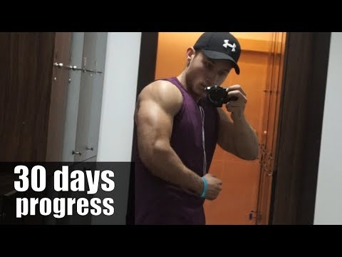 HOW I DOUBLED THE SIZE OF MY ARMS IN 30 DAYS