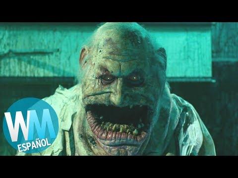 ¡OTRO Top 10 de MONSTRUOS de Película Más ATERRADORES!