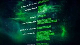 greenlantern first flight credits