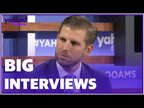 "Eric Trump admits ""things are different when you grow up as a Trump."""