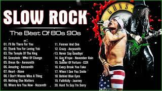 Download Scorpions, Bon Jovi, GNR , Aerosmith, U2 - Best Slow Rock Ballads 80's 90's