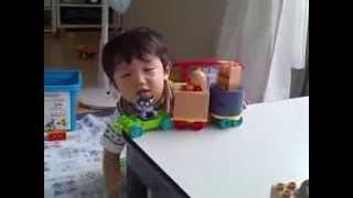 9月4日の誠ちゃんです。(1歳9ヶ月)