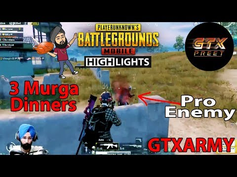 Pro Headshots ft. Pubg Mobile || 3 Chicken Highlights