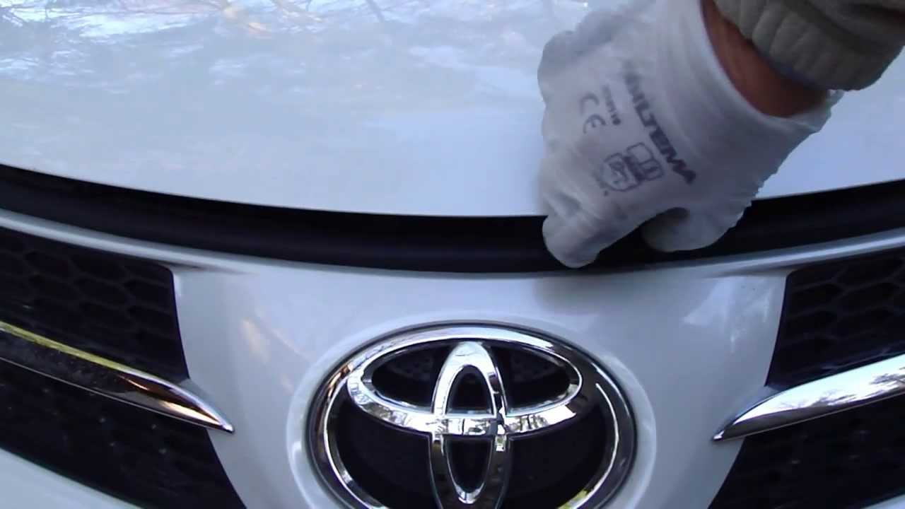 How To Open Bonnet Or Hood Toyota Rav4 Years 2013 To 2019