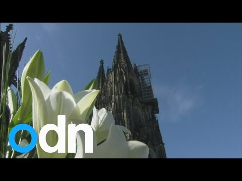 PLANE TRAGEDY: Mourners gather at Cologne cathedral to remember victims