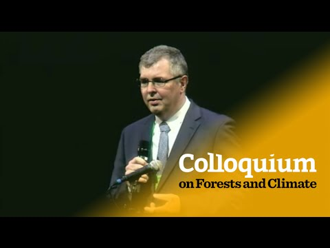 Colloquium on Forests & Climate: Peter Holmgren's opening address
