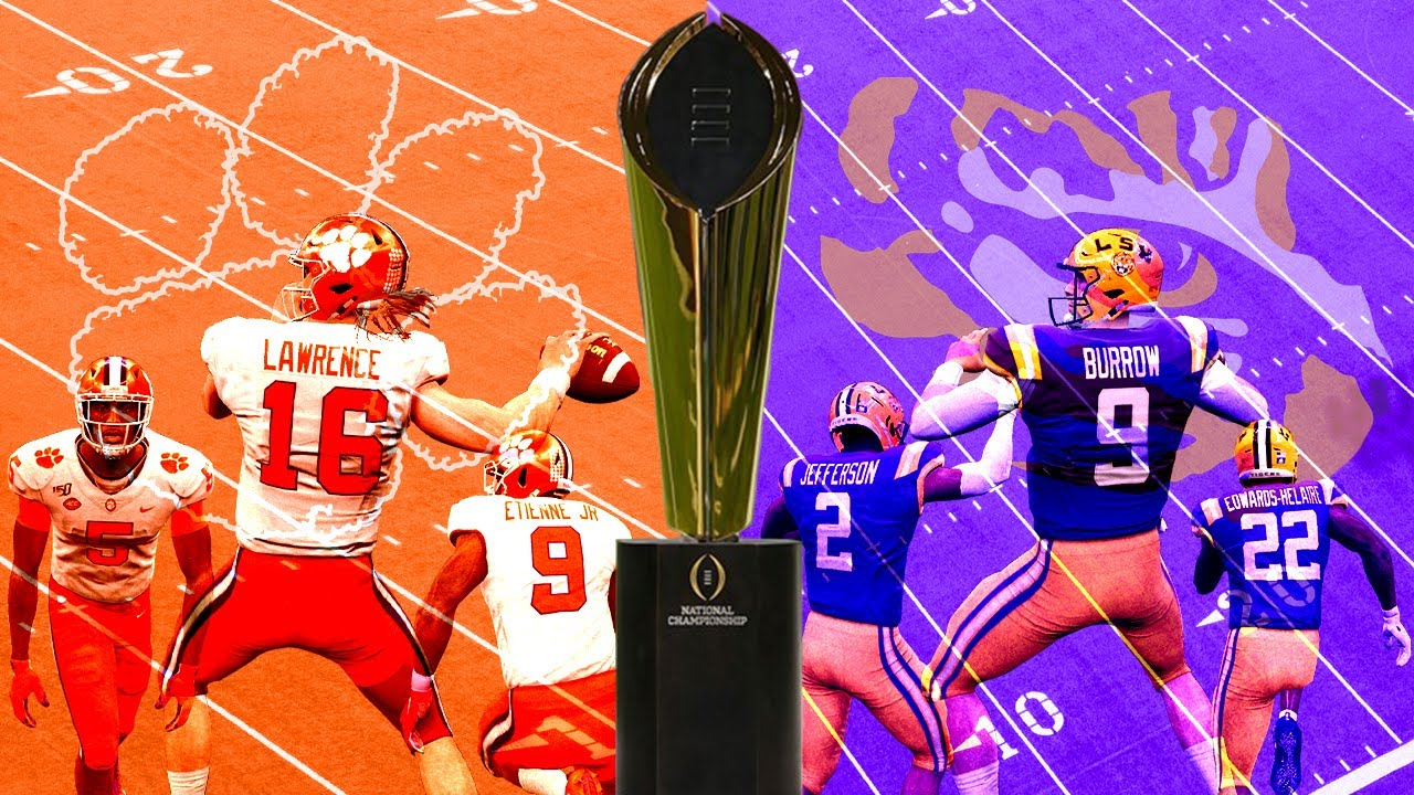 Clemson Vs Lsu 2020 National Championship Game Full