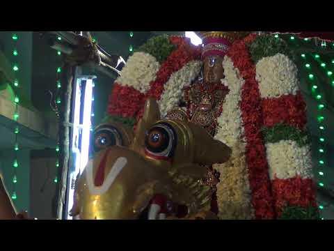 Sri Vedantha Desikar Devasthanam 2018 Yali Vahanam