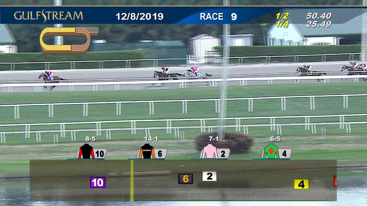 Gulfstream Park December 8, 2019 Race 9