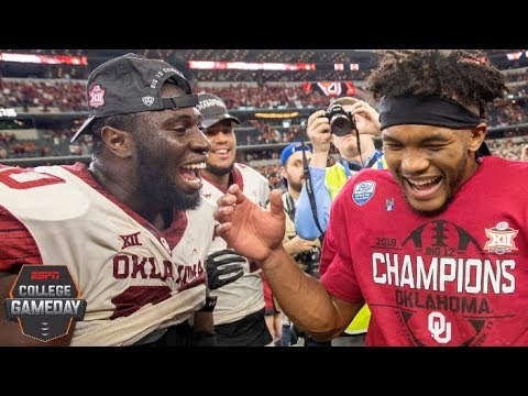 Oklahoma beats Texas to capture Big 12 title | College Football Highlights