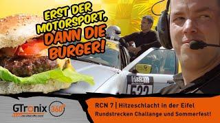 Erst der Motorsport, dann die Burger | RCN 7 | GTronix360° Team mcchip-dkr