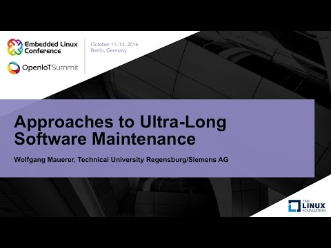 Approaches to Ultra-Long Software Maintenance