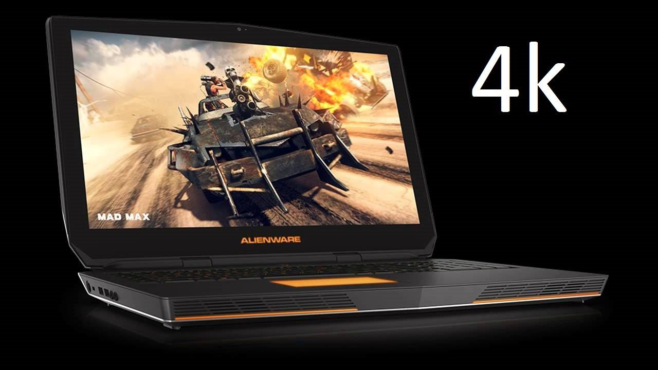 Laptop Gaming 4K Terbaik - Alienware 17 R3 4K