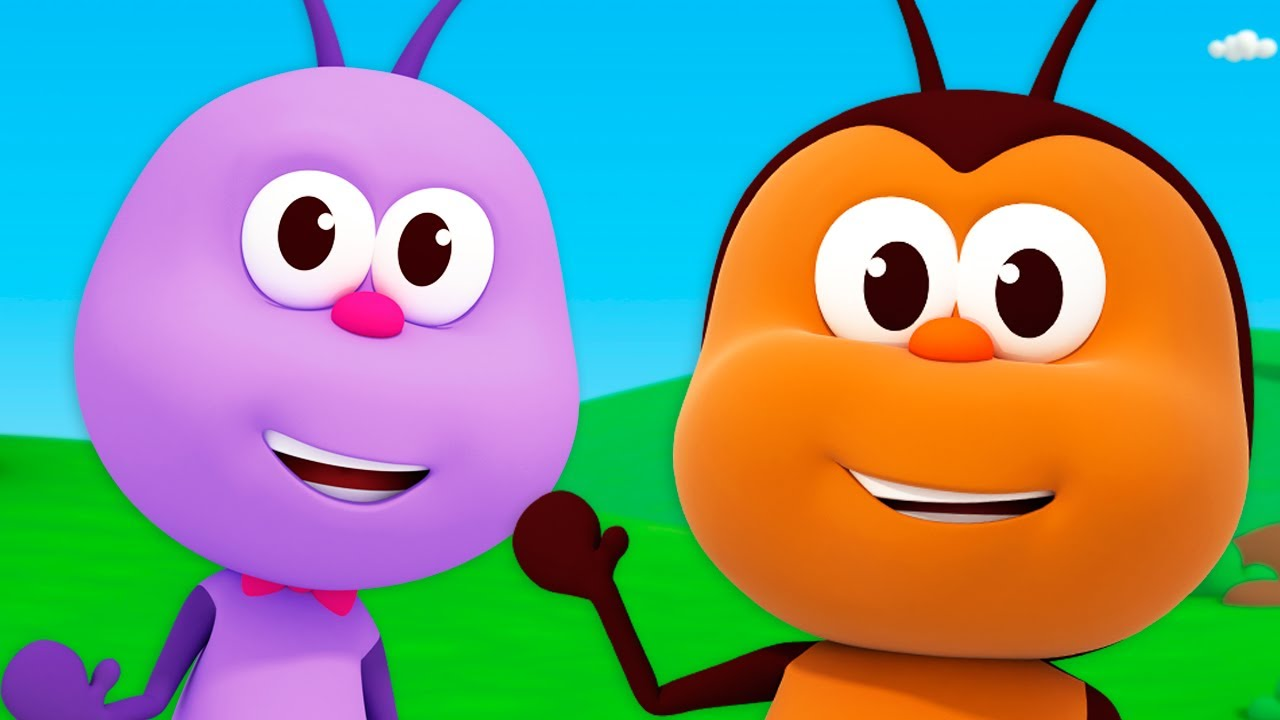 The Funniest Little Bugs #4  - Kids Songs & Nursery Rhymes   Bichikids
