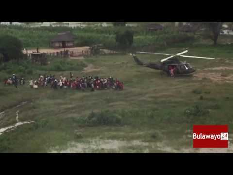 Airforce rescues  Tsholotsho