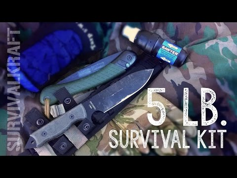 5 Lb. SURVIVAL KIT CHALLENGE!