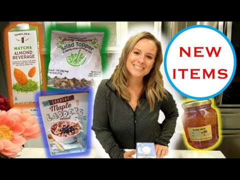 Trader Joe's Mini Haul by Employee (New Products) | May 2018
