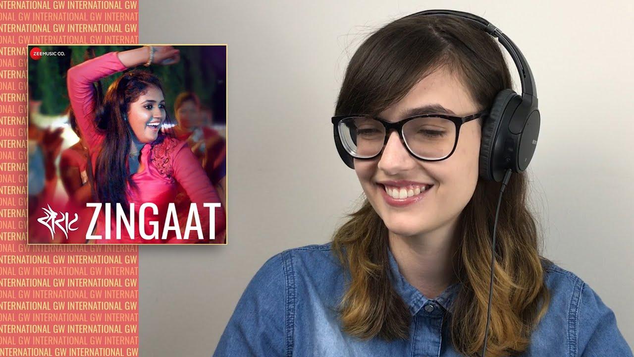 ALEXA REACTS to ZINGAAT Video Song | Sairat | Akash Thosar | Rinku Rajguru | Ajay Atul | Nagraj M
