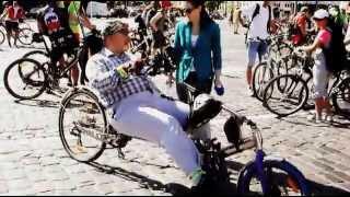 Велодень в Киеве 2013 - необычные велосипеды
