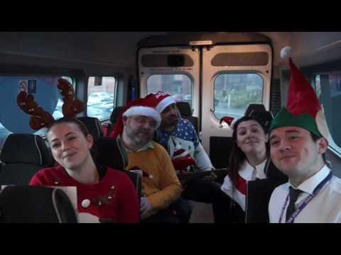 Horizon Academy driving home for Christmas