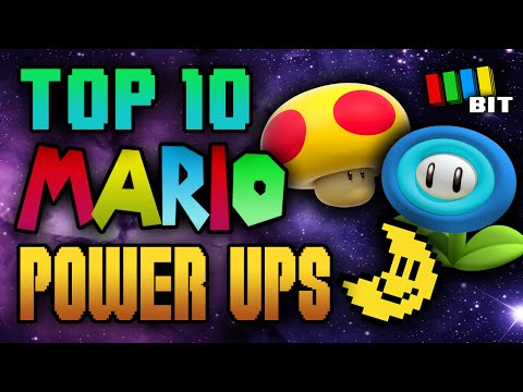 Top 10 Mario Power Ups !