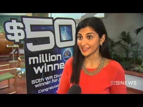 $50 Million Win | 9 News Perth