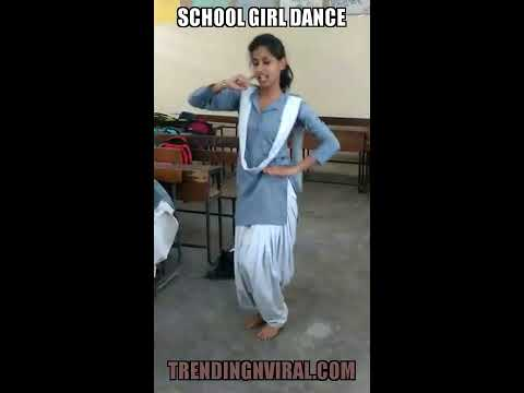 delhi school girl dance rehearsal