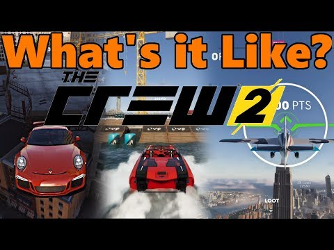 THE CREW 2 - How Does it Feel to Play? Cars, Boats, and Planes GAMEPLAY!