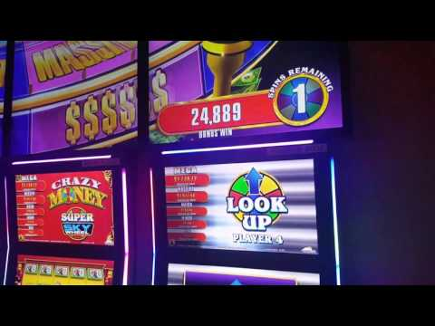 Major Win Jackpot! Crazy Money Super Sky Wheel - Blue Chip Casino Indiana slots Max Bets