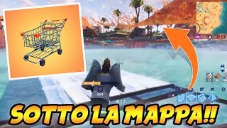 It's THE GLITCH OF CARRELLO! ANDARE ON THE MAP ON FORTNITE SEASON 5 PARADISIACO PALMETO