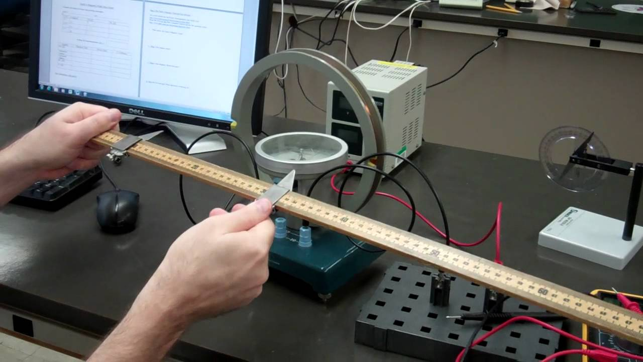 Physics 21l Lab 7 Earth S Magnetic Field Youtube