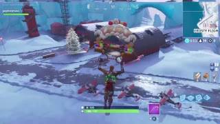 Fortnite 'Merry Marauder' Burnt Gingerbread Man skin