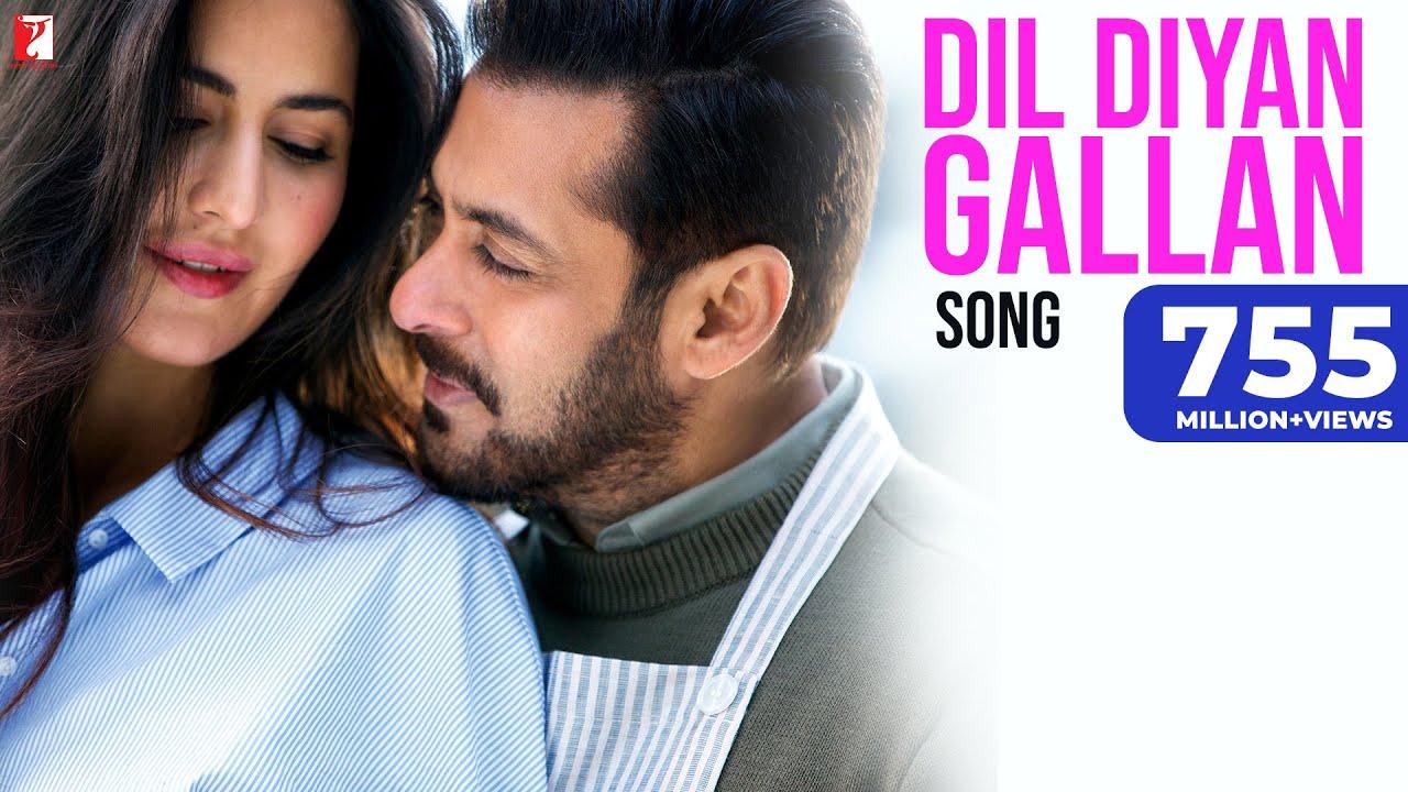 Dil Diyan Gallan Song | Tiger Zinda Hai | Salman Khan, Katrina Kaif | Atif, Vishal & Shekhar, Irshad #1