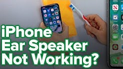 iPhone Ear Speaker Not Working? Here's The Fix!