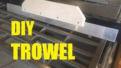 DIY - How To Make A Trowel
